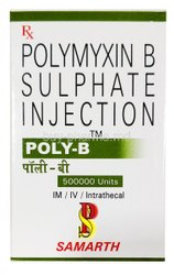 Poly B 500000IU Injection