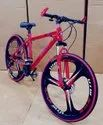 BMW Red Power MTB Cycle