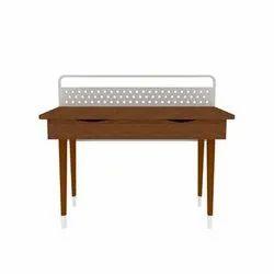FurnDepot Rectangular Wooden Desk, For Home, Size: 1220 X 610 Mm