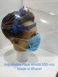 Adjustable Face Shield-350 Mic