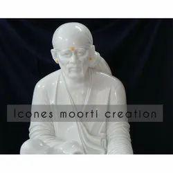 4.3 Feet Marble Sai Baba Statue