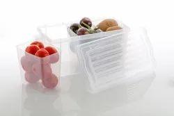 Fridge Storage Basket Shelf Organizer Space Saver Food Storage Refrigerator Drawer