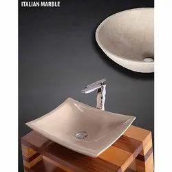 Italian Marble Table Top Stone Basin
