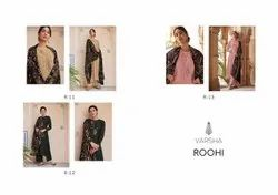 VARSHA FASHION ROOHI SILK PASHMINA WITH EMBROIDERY BEAUTIFUL SALWAR SUITS COLLECTIONS