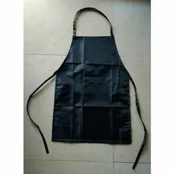 Plain Blended Cotton Cooking Apron, For Kitchen Usage, Size: 32 X 36 Inch