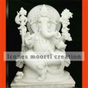 White Marble Ganesh Idols