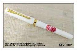 Singal Color Printing Promotional Plastic Pen