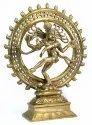 Nirmala Handicrafts Brass Natraja Statue Indian God Idol Sculpture