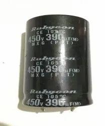 390uF 450MXK390MEFCSN22X60 Electrolytic Capacitors