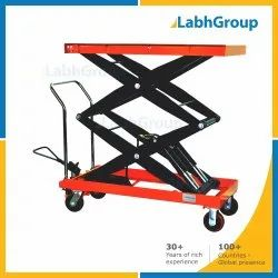Hydraulic Lift Tables With Wheel