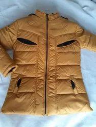 Regular Wear Plan Girls Jacket