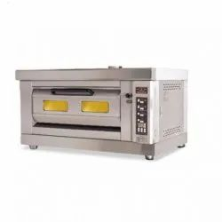 Electric Pizza Oven 1 Deck 2 Tray With Steam