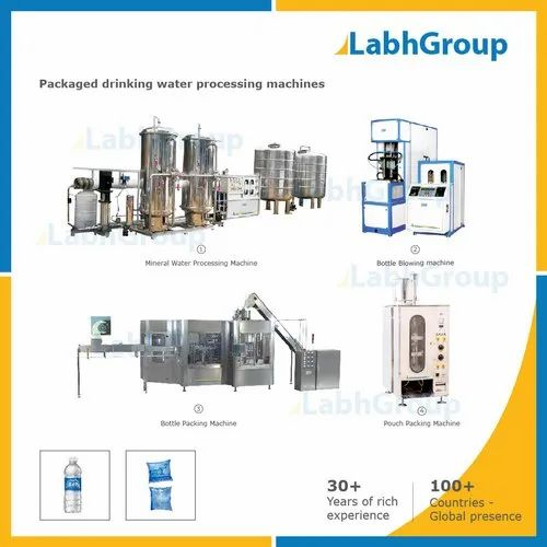 Packaged Drinking Water Processing Machines