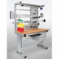 Aluminum Assembly Workstation, For Industrial