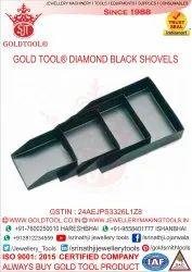 Gold Tool Diamond Black Shovels