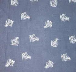 Blue Shirt Cotton Fabric, Machine wash, 50-100