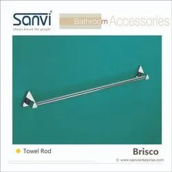 Beass & SS Stainless Steel Towel Rod, For Bathroom, 18