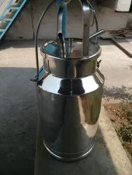 Stainless Steel Can For Milking Machine