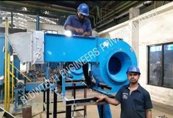 Hot Air Centrifugal Blower with Control Panel
