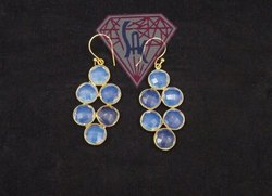 Opelite Gemstone Earring Set