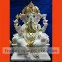 4.1 Feet Marble Ganesh Statues