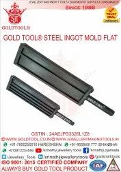 Gold Tool Steel Ingot Molds
