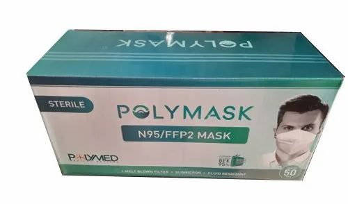 Reusable PolymedN95 Mask, Number of Layers: 6