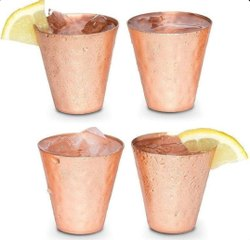 Copper Shot Glass, For Bar, Capacity: 2 Oz