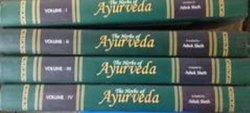 English The Herbs of Ayurveda , 4 Volumes set. By Ashok Seth, 1st Edition