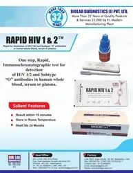 Rapid HIV 1/2/0 Triline Card Test