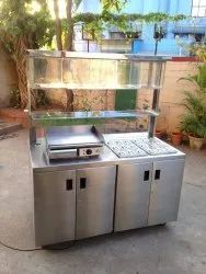 Stainless Steel Pizza Counter