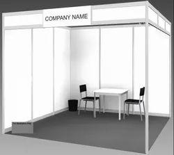 Octanorm Stalls/Booths, Pre Built Stalls Rental Service