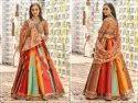 Peafowl Vol-60 Banarasi Silk With Embroidery Work Lehenga Choli Catalog