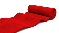 Red Cotton Carpet Roll