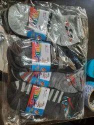 Neha Handkerchief Black Socks