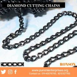 Diamond cutting chain
