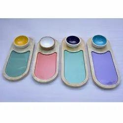 CII-405 Serving Wooden Platter
