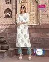 Diya Trendz Bibas Vol-6 Rayon Kurti With Plazzo Catalog