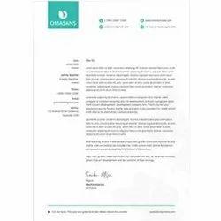 Customized Printed Letterhead
