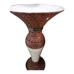 Ceramic Pedestal Wash Basin, For Bathroom