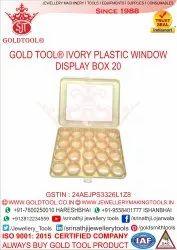 Gold Tool Plastic Display Box