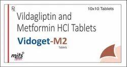 Vildagliptin Metformin HCl Tablets
