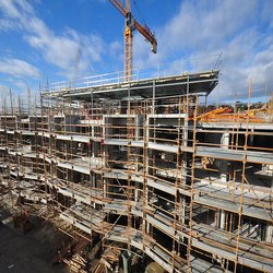 Concrete Commercial Projects Building Construction Project