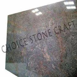 Honed Paradiso Granite Slab, For Flooring, Thickness: 20 mm