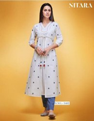 Nitara Layla Linen Cotton Kurti With Pant Catalog