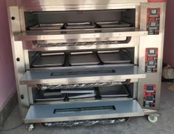 3 Deck 9 Tray Gas Oven