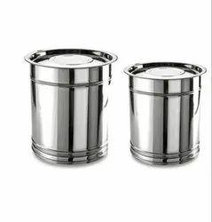 Stainless Steel Pawali Drum