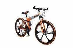 Orange Silver Bmw Foldable Cycle