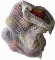 Eco Green Organic Cotton Net Mesh Bag