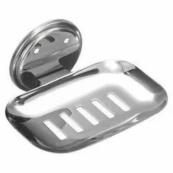 Pebble Stainless Steel Polished Soap Dish